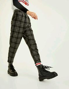 punk style | how to style docs | how to style plaid pants | fashion | #ootd