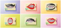 The Dieline Awards 2015: 1st Place Student- Trident Gum, Packaging Concept — The Dieline - Package Design Resource