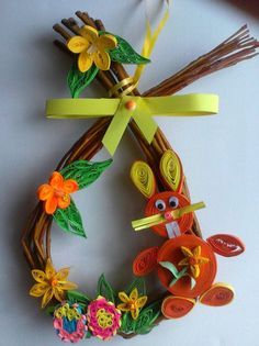 Osterhasen - Quilling - Easterbunny