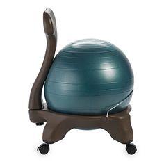 36761a431700 Gaiam Balance Ball Chair Forest Green by Office Depot   OfficeMax Ball  Chair
