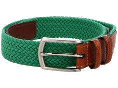 Torino Leather Co. Italian Woven Multi Cotton Elastic Men's Belts