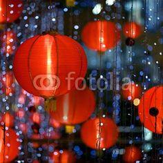 Fotomural LAMPARAS CHINAS-2333