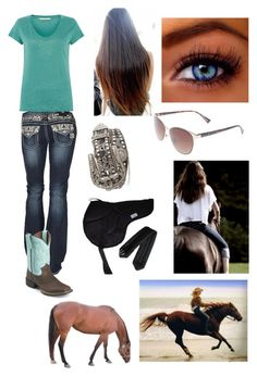 Riding bareback into the sunshine! Cute Cowgirl Outfits, Country Style Outfits, Southern Outfits, Country Girl Style, Country Fashion, Western Outfits, Cute Outfits, Fair Outfits, Teenage Girl Outfits
