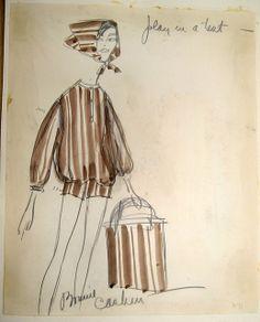 Bonnie Cashin Sketch