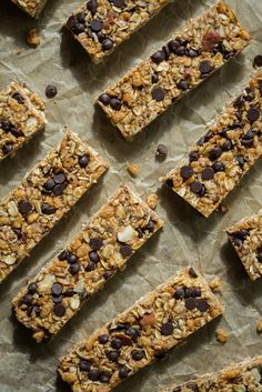 No Bake Almond Joy Granola Bars from @Angela Liddon - I ALWAYS have room for another granola bar/snack recipe, especially when it's from Angela!