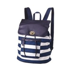 Mossimo Supply Co. Blue Stripe Washed Backpack. target.com