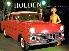 1961 Holden EK Special - Austalia's Own Car - Promotional Advertising Poster General Motors Cars, Holden Australia, Australian Cars, Vintage Trucks, American Muscle Cars, Advertising Poster, Cool Cars, Classic Cars, Wheels