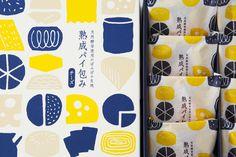 Shunkado food packaging. Awatsuji Design.