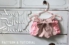 Ruffle Bloomer Tutorial