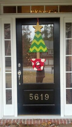 How To Decorate Apartment Door For Christmas Of 1000 Images About Dressing Up Your Front Door On