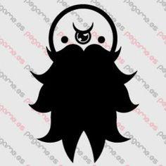 Pegame.es Online Decals Shop  #monster #beard #vinyl #sticker #pegatina #vinilo #stencil #decal
