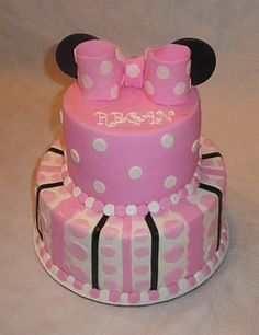 @Kassi Myren-Mccabe  How about this for the top of the cake and girly stuff around the rest?