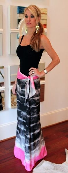 Cute Cute..love this Maxi skirt!!