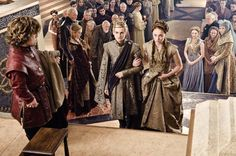 Game of Thrones. Joffrey wearing Rubelli coat. Fabric- 30003-07 Trebisonda
