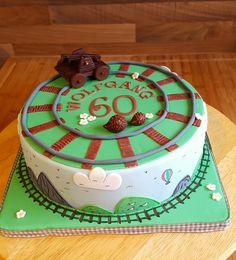 Geburtstag-Erwachsene » Torte Draisine zum 60. Geburtstag