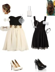 """""""Black and White Ball"""" by soccergirl121212 ❤ liked on Polyvore"""