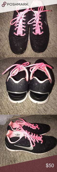 Nike Free Run Shoes Worn once, washed, great condition. Super comfy shoes. Nike Shoes Athletic Shoes