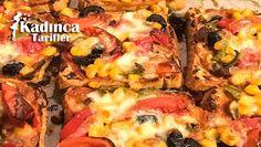 Tost Ekmeğinden Pizza Tarifi nasıl yapılır? Tost Ekmeğinden Pizza Tarifi'nin malzemeleri, resimli anlatımı ve yapılışı için tıklayın. Yazar: Neslice Tarifler