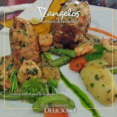 #FelizMiercoles para tu paladar con un exquisito Roulé de pollo en salsa de camarones.  Ven a @orinokia_mall en #ZonaGourmet #DondeTodoSeUne  #SencillamenteDelicioso  #Guayana  #puertoordaz  #gastronomía  #gourmet  #cafe  #almuerzo  #cena  #postres  #pornfood #instafood  #chicken  #quehayenpuertordaz