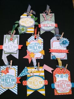 Great collection of tag designes. Dessert Tags