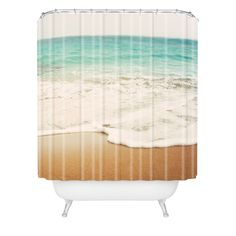 Bree Madden Ombre Beach Shower Curtain   DENY Designs Home Accessories