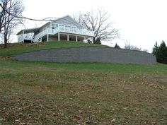 Pittsburgh retaining walls installation by PGHSW uses retaining wall block like Omni Stone and Versa-lok for it's retaining wall construction. Retaining Wall Construction, Privacy Walls, Wall Installation, Pittsburgh Pa, Landscape Design, Outdoor Living, Shed, Outdoor Structures, Patio
