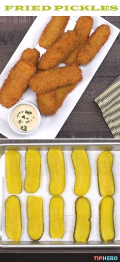 Craving something a little tangy, a little sour, and maybe even a little bit spicy, then you've got to try a batch of these fried pickles! It's a classic in Southern cooking and are great as an appetizer or a sandwiches best friend or for your game day celebration. Click and watch how easy they are to make and fry up a batch.