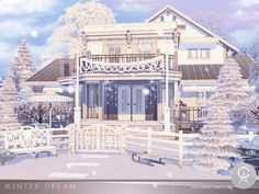 By Pralinesims  Found in TSR Category '#Sims4Lots Residential '