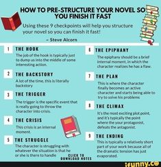 Writing a novel story structure