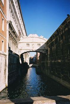 Venice- been here! The bridge of sighs