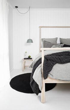 Puro estilo nórdico en Australia estilo escandinavo decoración minimalista decoración interiores casas negras casas madera casas australia blog decoración nórdica