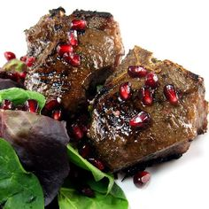 One Perfect Bite: Grilled Lamb Chops with Pomegranate Glaze#.U0ippVeEzi8