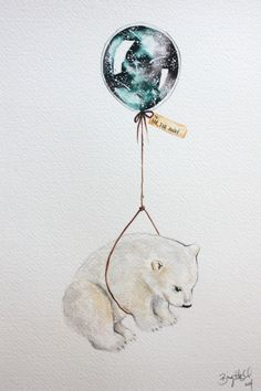 Baby ilustration drawing polar bears 27 ideas - Best Picture For baby funny For Your Taste You are looking for something, and it is going to tell - Bear Art, Watercolor Art, Animal Art, Art Drawings, Drawings, Cute Art, Illustration Art, Art, Cute Drawings