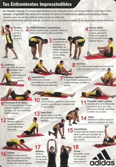 Ejercicios de estiramiento. Physical Fitness, Yoga Fitness, Fitness Tips, Health Fitness, Fitness Quotes, Core Workout Routine, Workout At Work, Pilates Video, Pilates Reformer