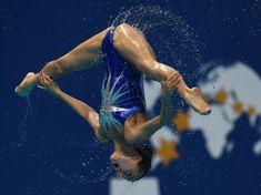 Belles et inattendues : les photos des Mondiaux 2015 de natation
