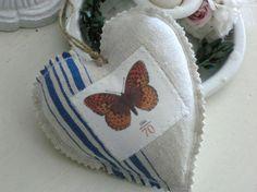 Stoffherz No 16 von White Roses auf DaWanda.com