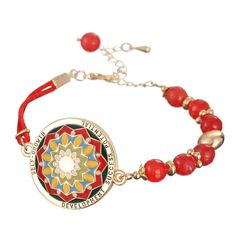 Celtic Bracelet Mandala Design. Meaning: SELF- GROWTH. Development, Success and Potential