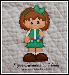 Girl Scout - Junior www.papercreationsbymindy.com $5.00