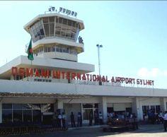 Osmani international airport, Sylhet Bangladesh.