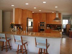 Deluxe Brown Colored Kitchen Design Ideas | Interior Minimalist Design