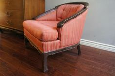 Now there's a beauty in the making! > Hollywood Regency Asian Lounge Chair