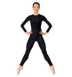 Adult Long Sleeve Crew Neck Unitard With Back Zipper Biggest Dancewear Mega Store Offering Brand Dance And Ballet Shoes Dance Clothing Recital Costumes Dance Tights Shop All Pointe Shoe Brands And Dance Wear At The Lowest Price Plus Size One Piece, One Piece For Women, Yoga Wear, Dance Wear, Body Negro, Light Blue Suit, Pullover Shirt, Full Body Suit, Dance Tights
