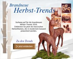Entdecken Sie die neuesten #Herbstdeko-#Trends! Klassische #Herbstthemen präsentiert in modernem Gewand! #Deko #Dekoration #Herbstdekoration http://shop.decowoerner.com/cgi-bin/WebObjects/XSeMIPS.woa/cms/page/locale.deDE/pid.4649/mlid.1982/NL-2016-07-19-Herbsttrends-AI.html