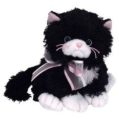 TY Beanie Baby - CABARET the Cat (6 inch) 59236d17875e