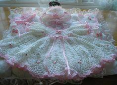 Crochet Pattern for Baby Reborn doll  0-3 months DRESS HEADBAND Bib Booties Bonnet PDF Download instantly  $3.89
