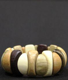 Разноцветный браслет из ассорти древесины вбр560