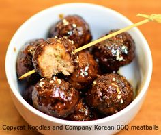 Every time my family dined in Noodles and Company, we ordered one of its appetizers called Korean BBQ Meatballs, 10 meatballs in a bowl. Every time my family of four fought over who ate how many, which means loss to the restaurant because the way to end the fight is to make it at home, so everyone can have as many as we want without overspending on dining.After searching, I found Noodles and Company has actually published its recipe here. However, when I followed the recipe exactly for the…