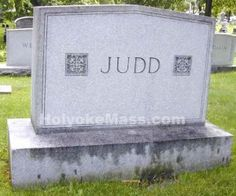 Tombstone Tuesday - Judd Forestdale Cemetery #genealogy #familyhistory