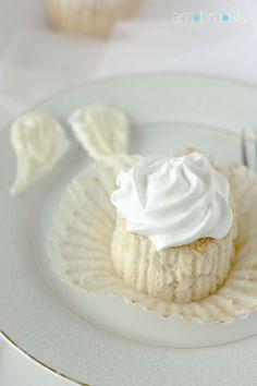 ambrosia: Angelic Angel Food Cupcakes