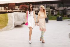 Summer Outfit - Summer Look - Fabulous Muses - Diana Enciu - Alina Tanasa - Mannish Dress - Tommy Hilfiger Dress